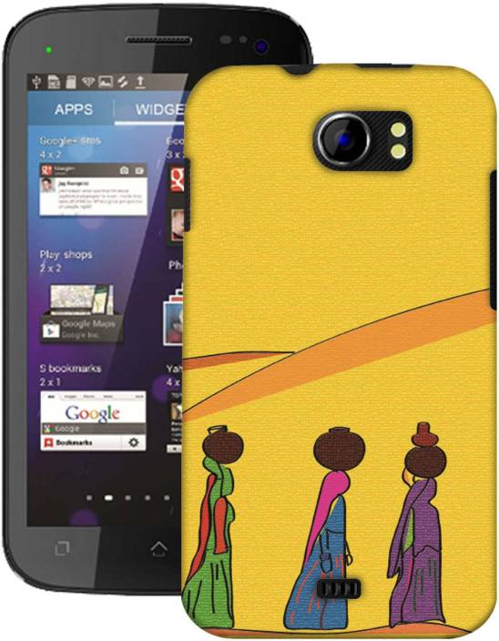AmerakiDesignHouse Back Cover for Micromax A110 Canvas 2