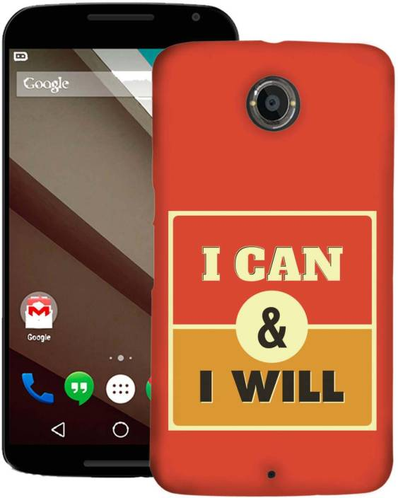 AmerakiDesignHouse Back Cover for Motorola Nexus 6