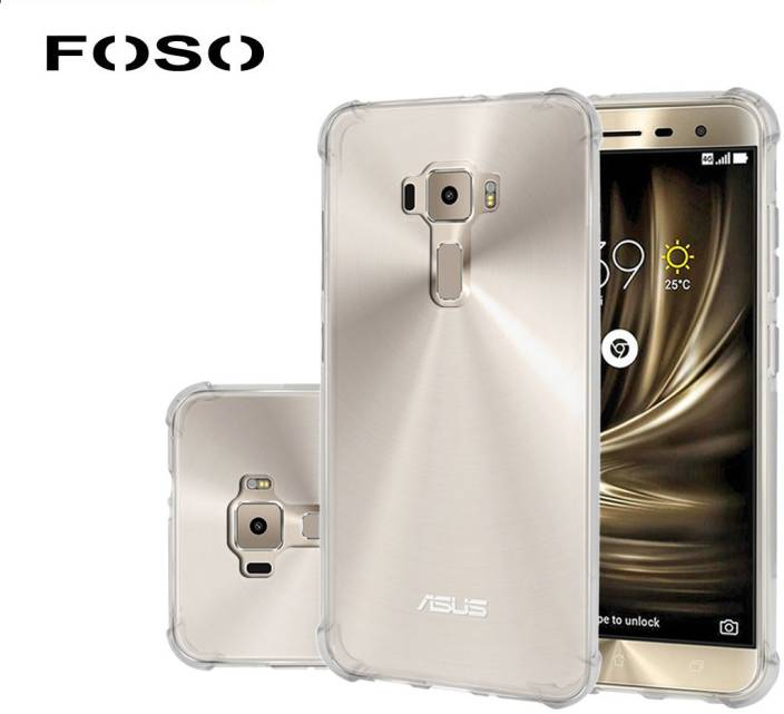 huge selection of beb6e 075b7 FOSO Back Cover for Asus Zenfone 3 (5.2