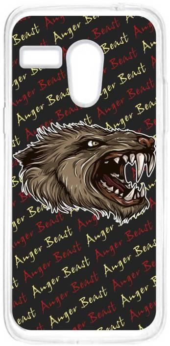 Anger Beast Back Cover for Moto G (1st Gen)