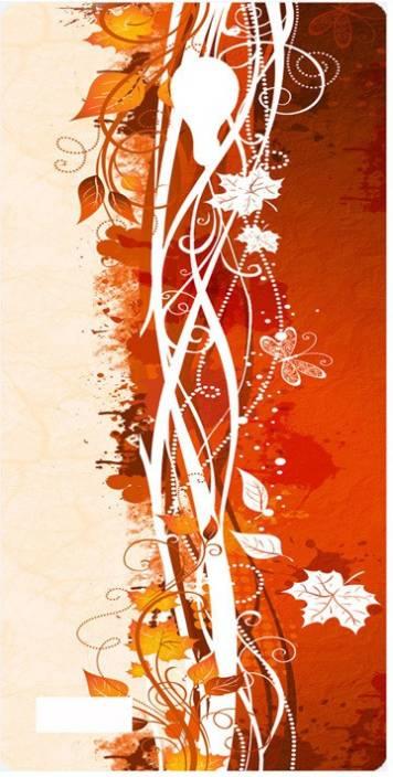 Amagav Back Cover for LYF FLAME 7