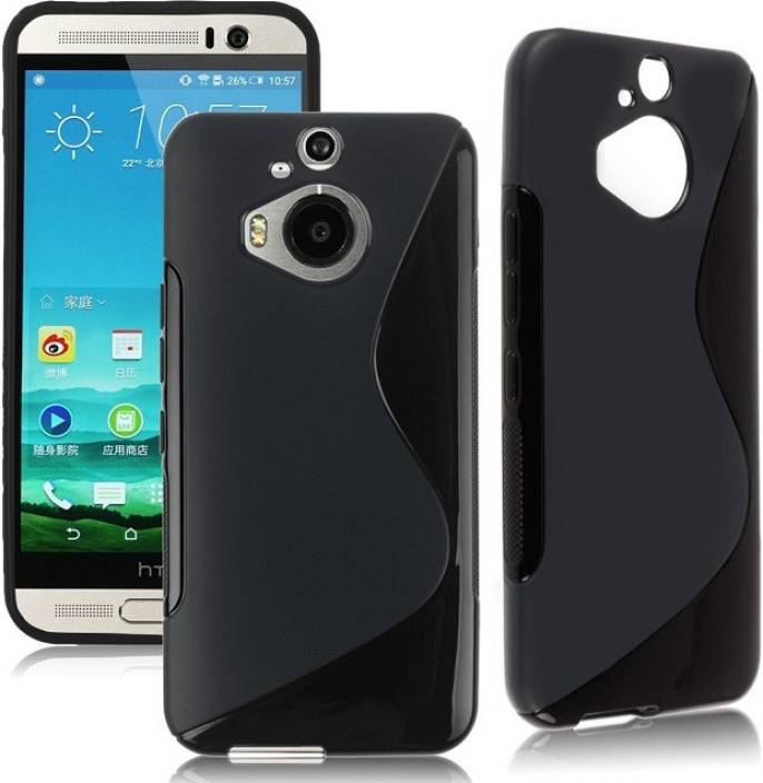 Black Back Cover for Htc M9 Plus (+)
