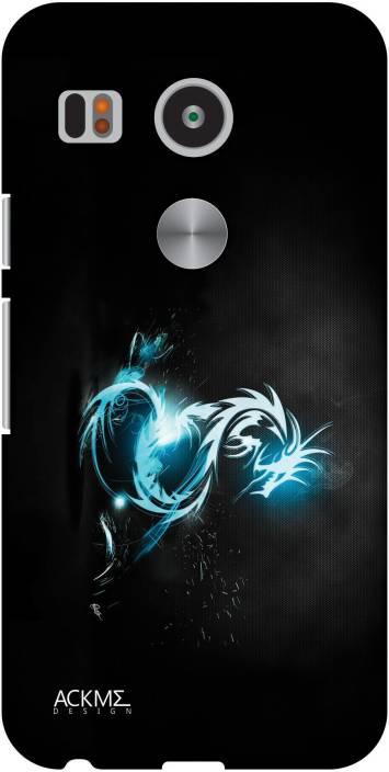 ACKME DESIGN Back Cover for LG Nexus 5x
