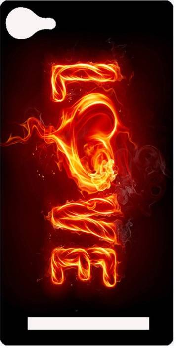 Amagav Back Cover for Lyf Flame 8