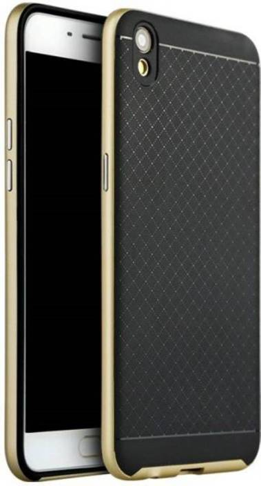 iPaky Back Cover for OPPO F1 Plus (GOLD, Silicon, Plastic)