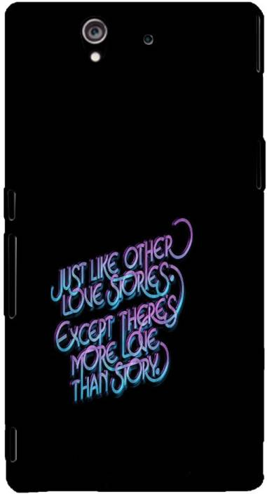EPICCASE Back Cover for Sony Xperia Z