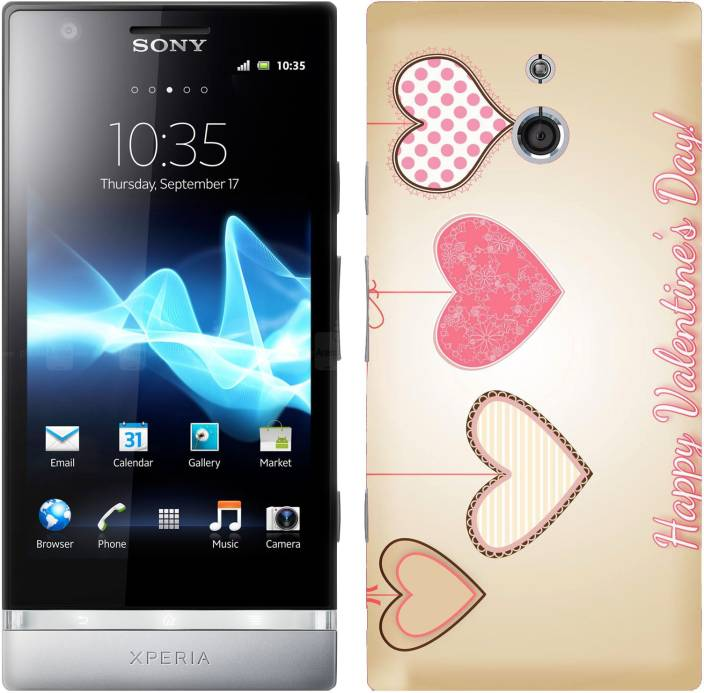 WoW Back Cover for Sony Xperia P