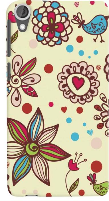 Golden Owl Back Cover for HTC Desire 628