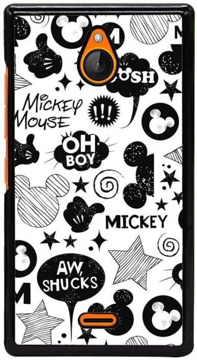 Fuson Back Cover for Nokia X2