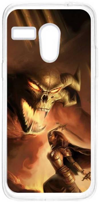 Anger Beast Back Cover for Motorola Moto G (1st Generation)