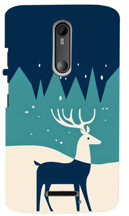 Mobile Makeup Back Cover for Motorola Moto X (3rd Gen)