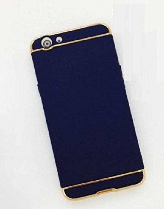 Ipaky Back Case Back Cover for OPPO F1s (Blue, Plastic)