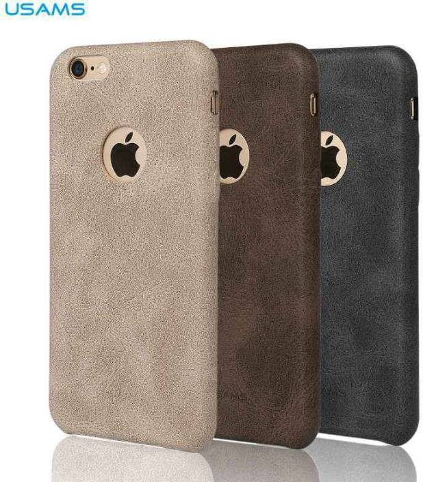 best sneakers 631f0 283df Accessories Innovator Back Cover for Apple iPhone 6 Plus/6 Plus s USAMS BOB  Series Soft PU Leather Back Case Cover - Brown Color