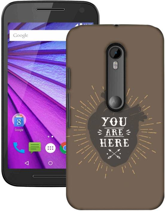 AmerakiDesignHouse Back Cover for Motorola Moto G 3