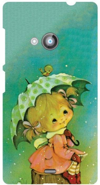 Printland Back Cover for Nokia 500