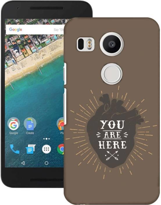 AmerakiDesignHouse Back Cover for LG Nexus 5X