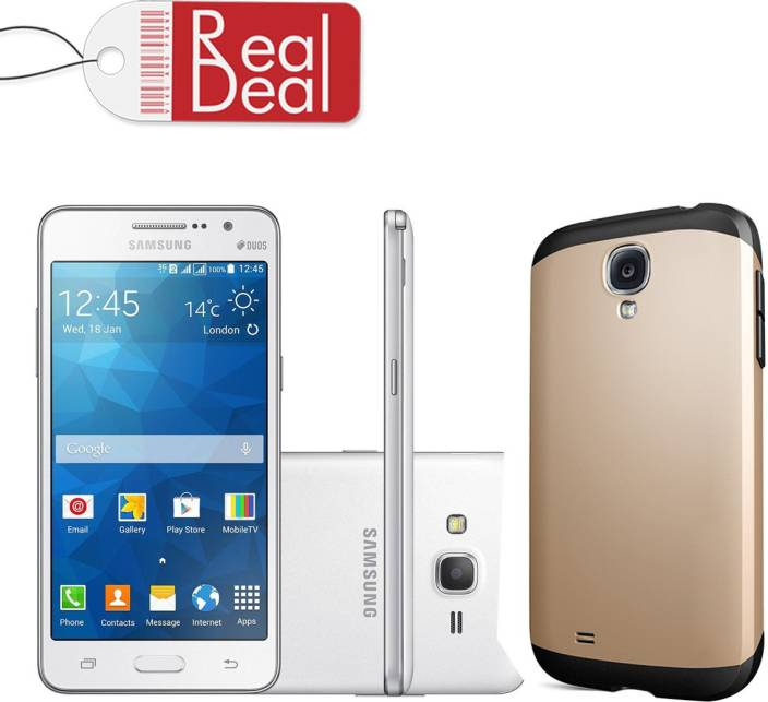 Real Deal Back Cover for samsung Grand prim G530 (gold)