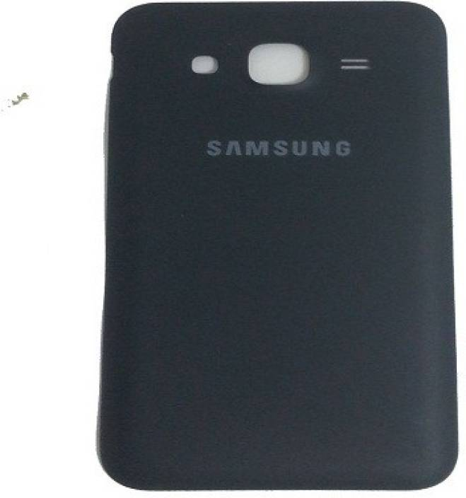 SMP Back Replacement Cover for Samsung Galaxy J5 (Black, Plastic)