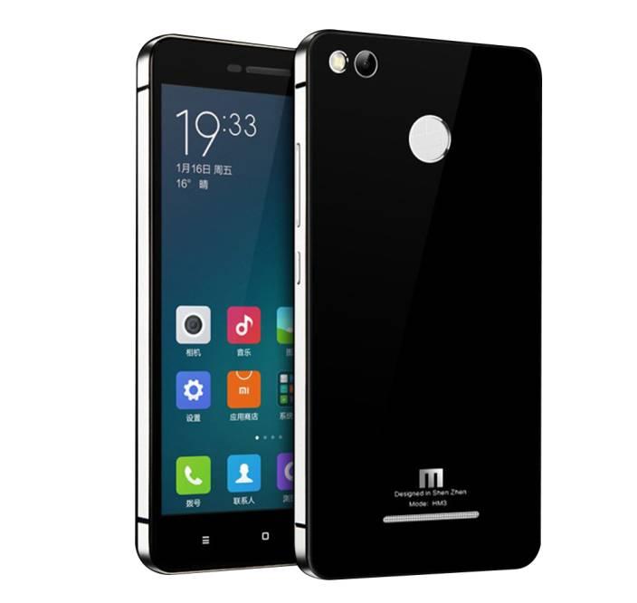 Shopizone Back Replacement Cover for Mi Redmi 3S Prime, Xiaomi 3 Pro (Metalic Silver, Metal)