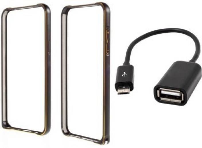 Securemob Bumper Case for Samsung Galaxy J7 J700 (Black)