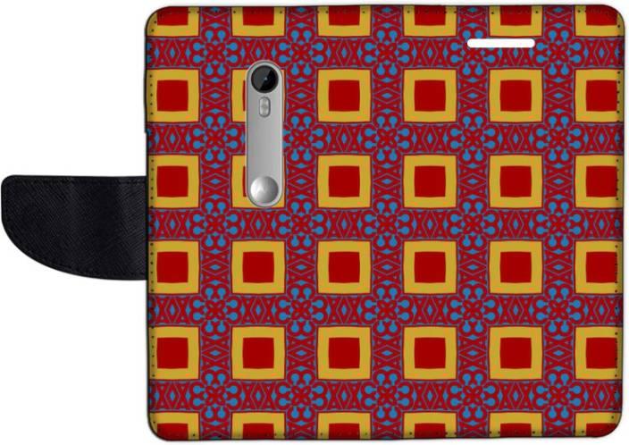 Muvit Flip Cover for Motorola Moto G Turbo Edition