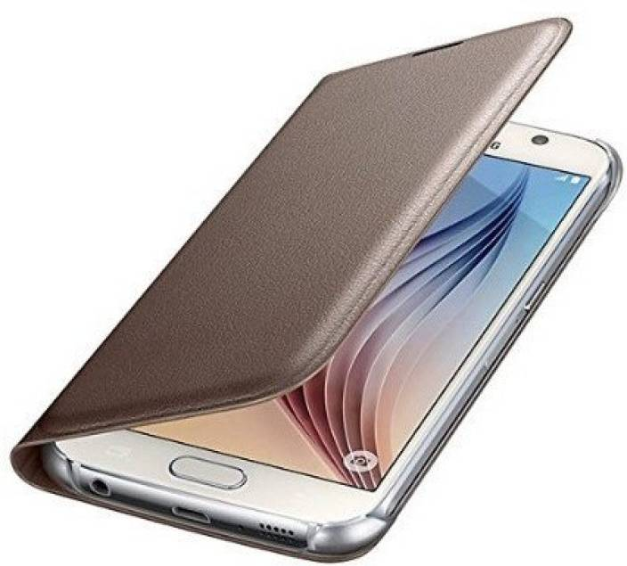 new arrivals 4c652 d762b SmartLike Flip Cover for Samsung Galaxy J7 (2016) GOLD - SmartLike ...