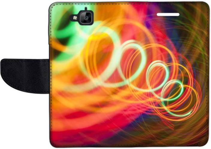 Muvit Flip Cover for Huawei Enjoy 5