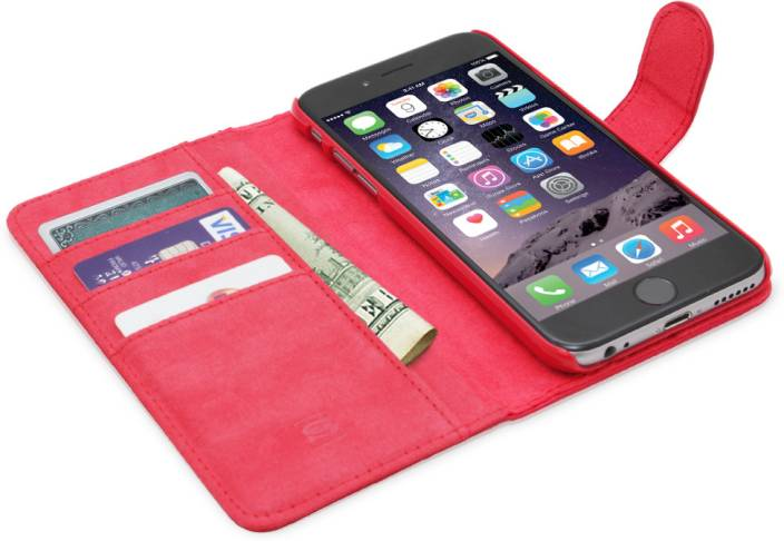 promo code ee880 d4d3c Snugg India Flip Cover for iPhone 6 Plus - Snugg India : Flipkart.com