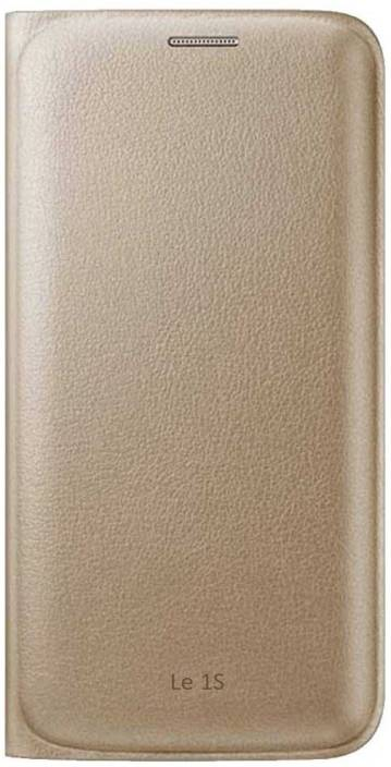 Ifra Flip Cover for LeTv Le 1S-(Dual Sim)-Golden