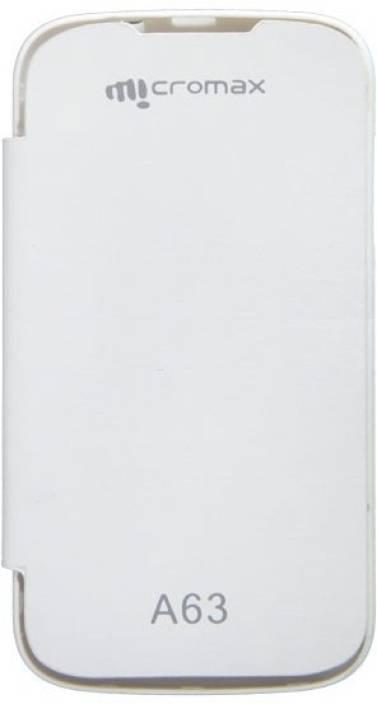new concept 1f2b4 0699a Case-M Flip Cover for Micromax Canvas Fun A63