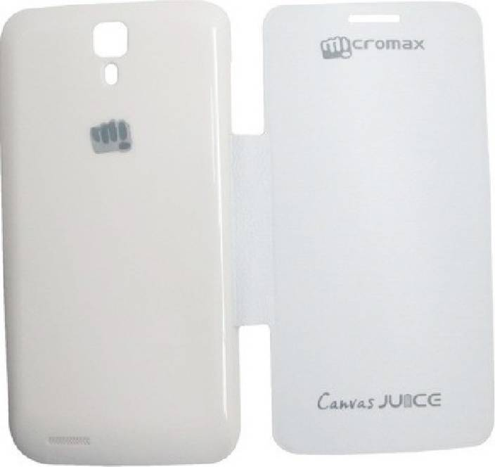 Tidel Flip Cover for Micromax A77 Canvas Juice