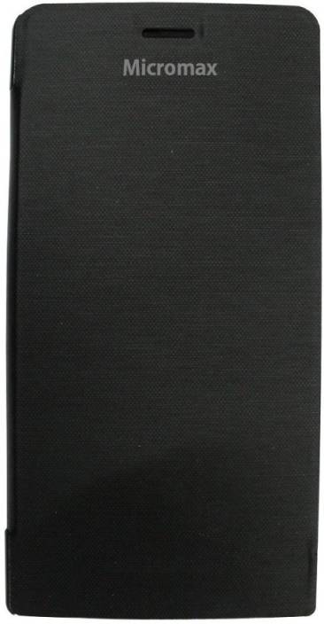 Balacase Flip Cover for Micromax Canvas Selfie 2 Q340