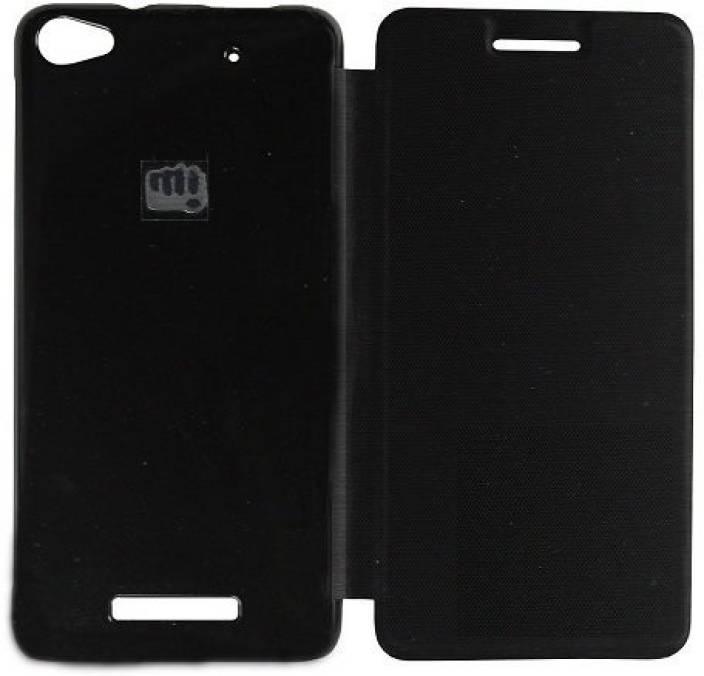 HD Accessories Flip Cover for Micromax Unite 3 Q372