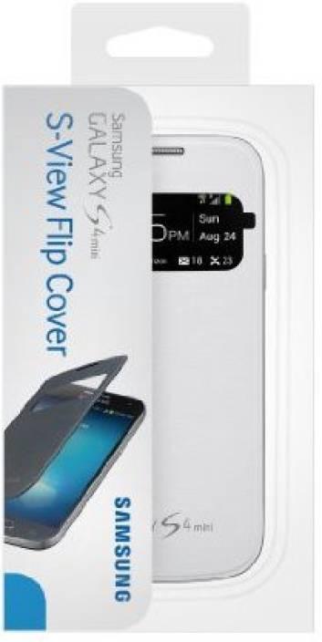 new concept 6a79b 2d516 Samsung Flip Cover for SAMSUNG Galaxy S4 Mini