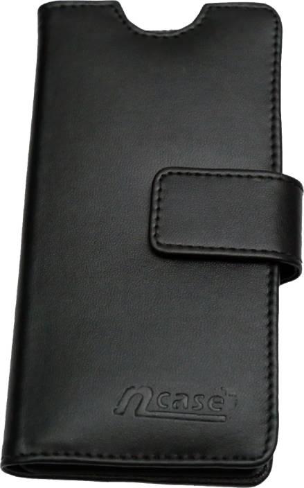 nCase Flip Cover for Lenovo A6000 Plus, Lenovo A6000