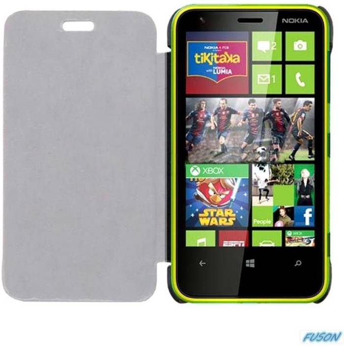 the latest af555 1355e FUSON Flip Cover for Nokia Lumia 630