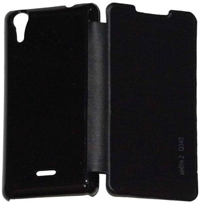 YuniKase Flip Cover for Micromax Canvas Selfie 2 Q340