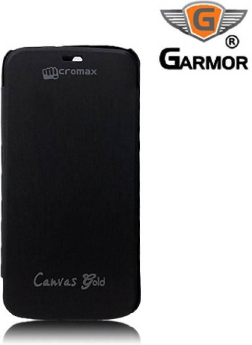 half off ceb9b 51180 Garmor Flip Cover for Micromax Canvas Gold A300