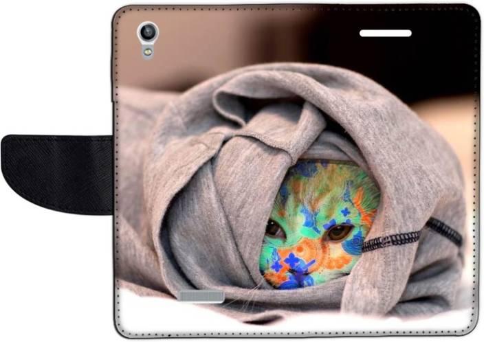 Muvit Flip Cover for Lava Pixel V1