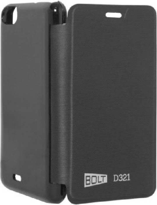 Tidel Flip Cover for Micromax Bolt D321