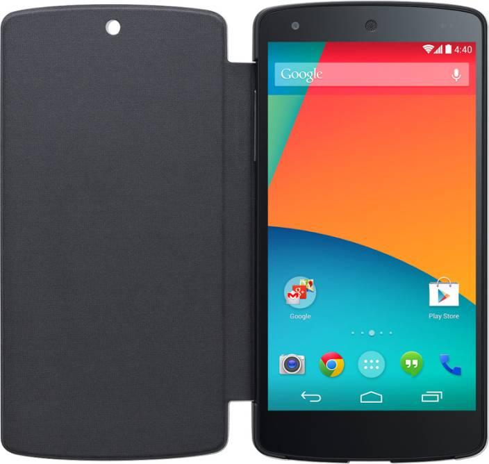 the best attitude 8c951 b9c79 LG Flip Cover for Nexus 5