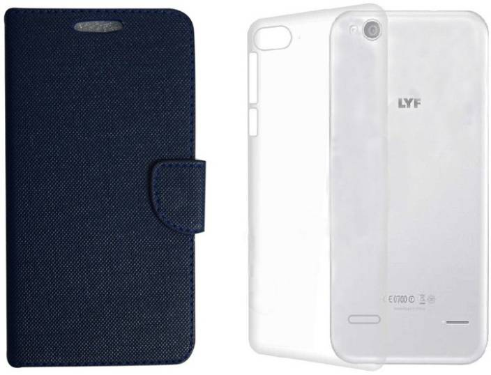 cheap for discount 325c6 6b6fe Colorcase Flip Cover for Reliance Jio Lyf Flame 8 - Colorcase ...