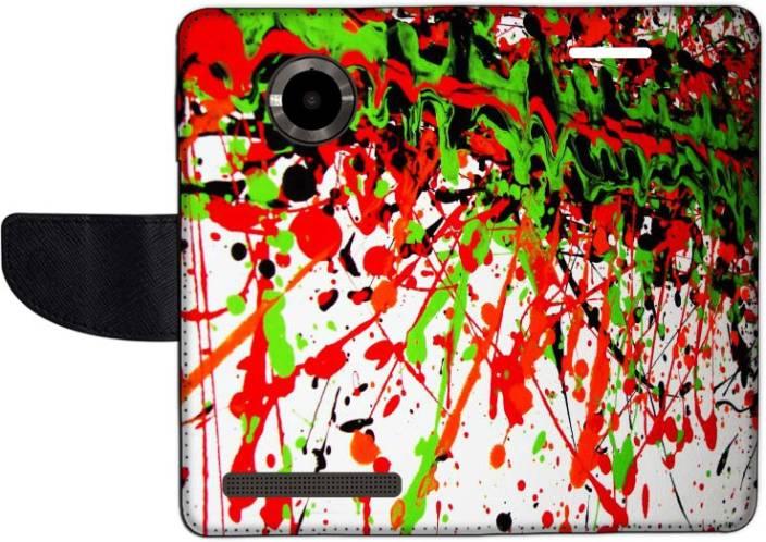 Muvit Flip Cover for Micromax Yu YuPhoria