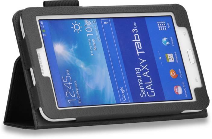 official photos f7441 68677 HOKO Flip Cover for Samsung Galaxy Tab 3 Lite Sm-T111
