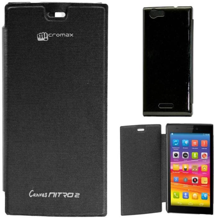 NSI Flip Cover for Micromax Canvas Nitro 2 E311