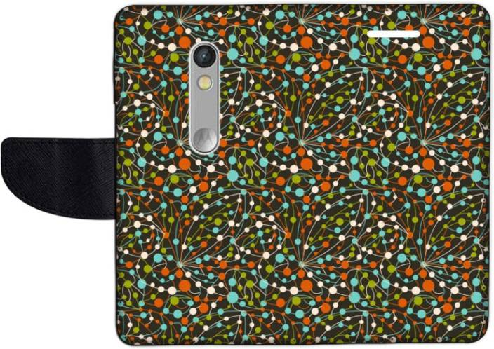 Muvit Flip Cover for Motorola Moto X Play