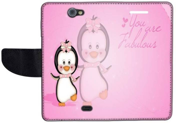Muvit Flip Cover for Gionee Pioneer P2