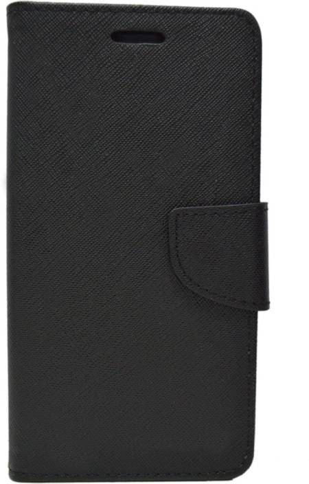 Shine Flip Cover for Micromax Canvas Spark Q380
