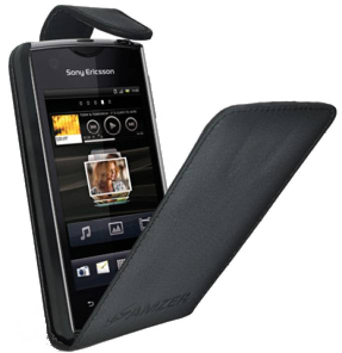 Amzer Flip Cover For Sony Ericsson Xperia Ray Amzer