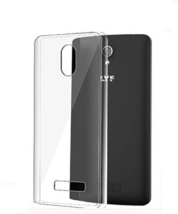 650ab377a6 Craftech Back Cover for Reliance Jio Lyf Wind 3 LS-5502 (Transparent, Grip  Case, Rubber)